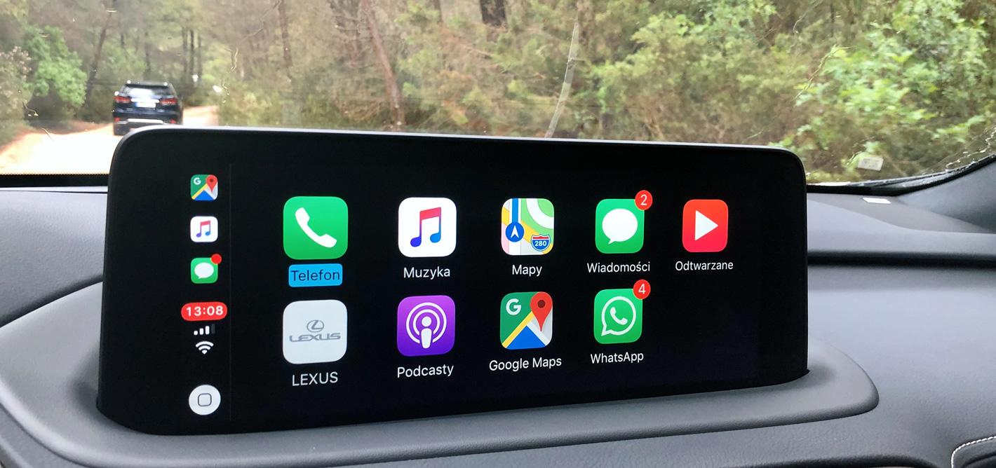 Nowy Lexus RX 2020 z Apple CarPlay