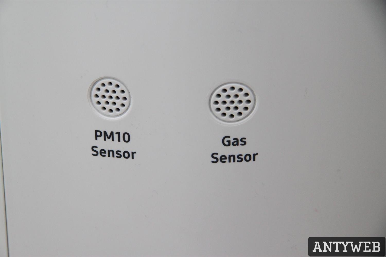 Samsung AX40 R3030WM sensory PM10 i gazu