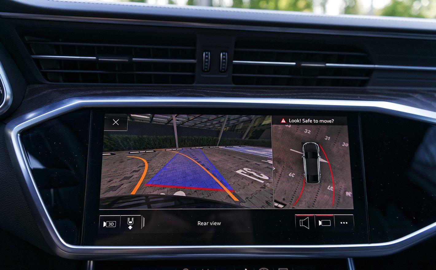 Audi A7 Sportback - kamera 360