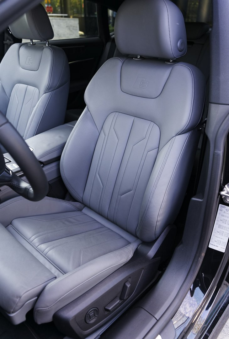 Audi A7 Sportback - fotel kierowcy