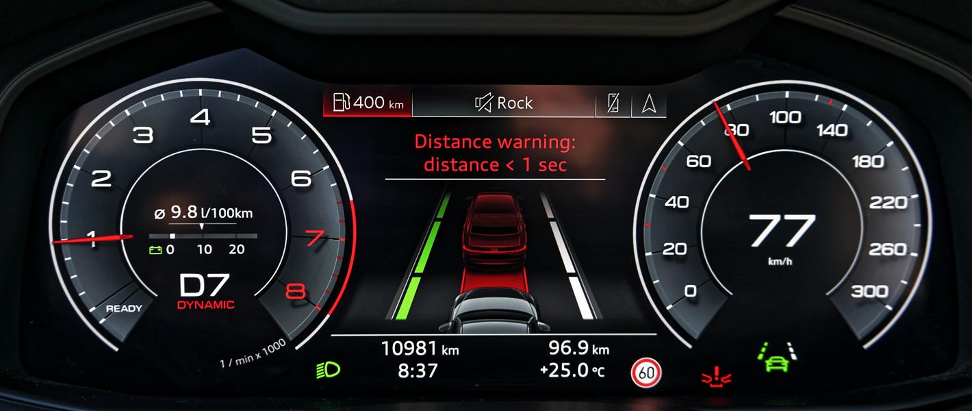 Audi A7 Sportback - Front Assist