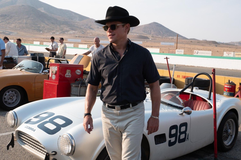 Matt Damon in Twentieth Century FoxŐs FORD V. FERRARI.