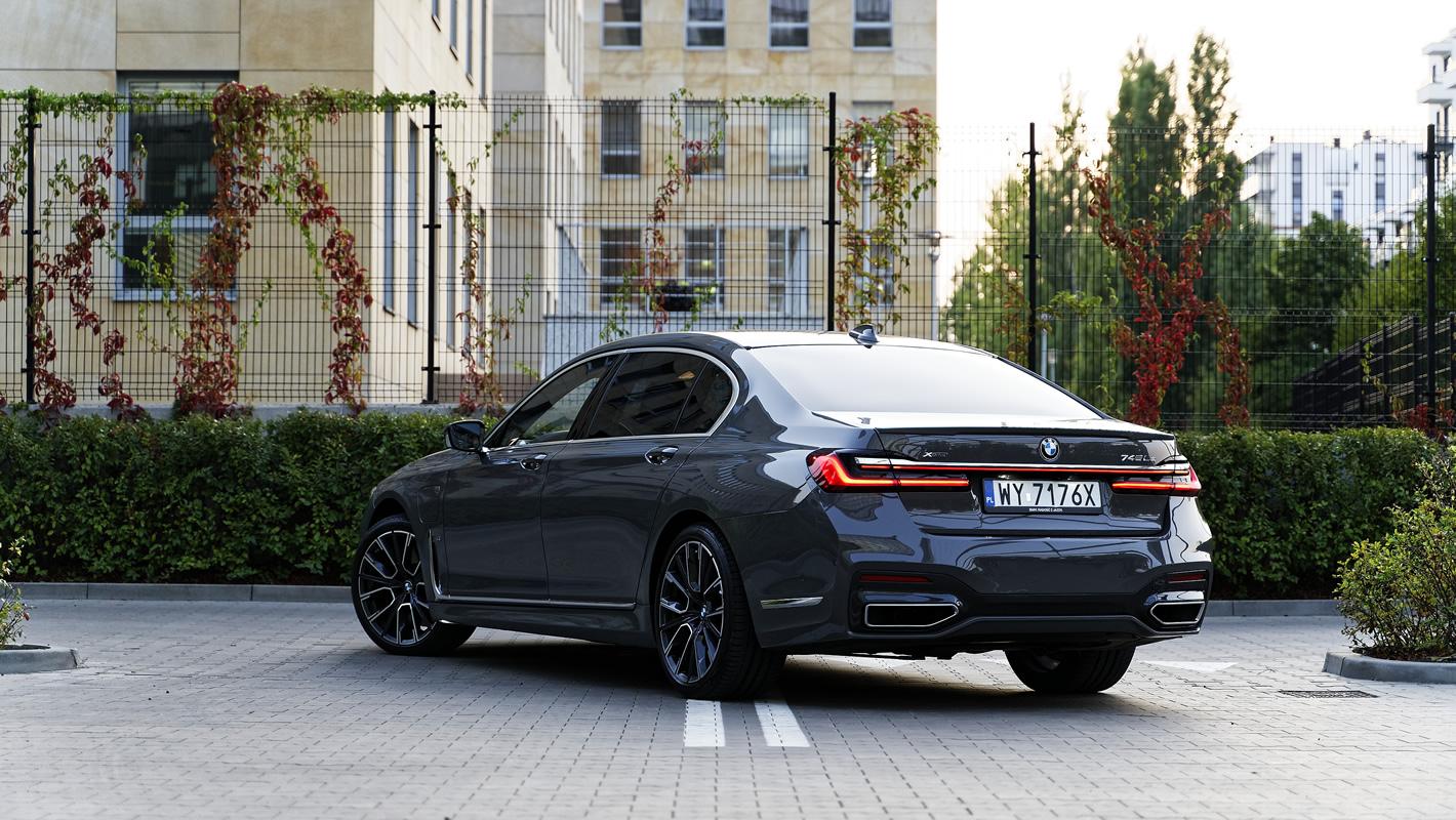 BMW 745Le xDrive Hybryda Plug-In