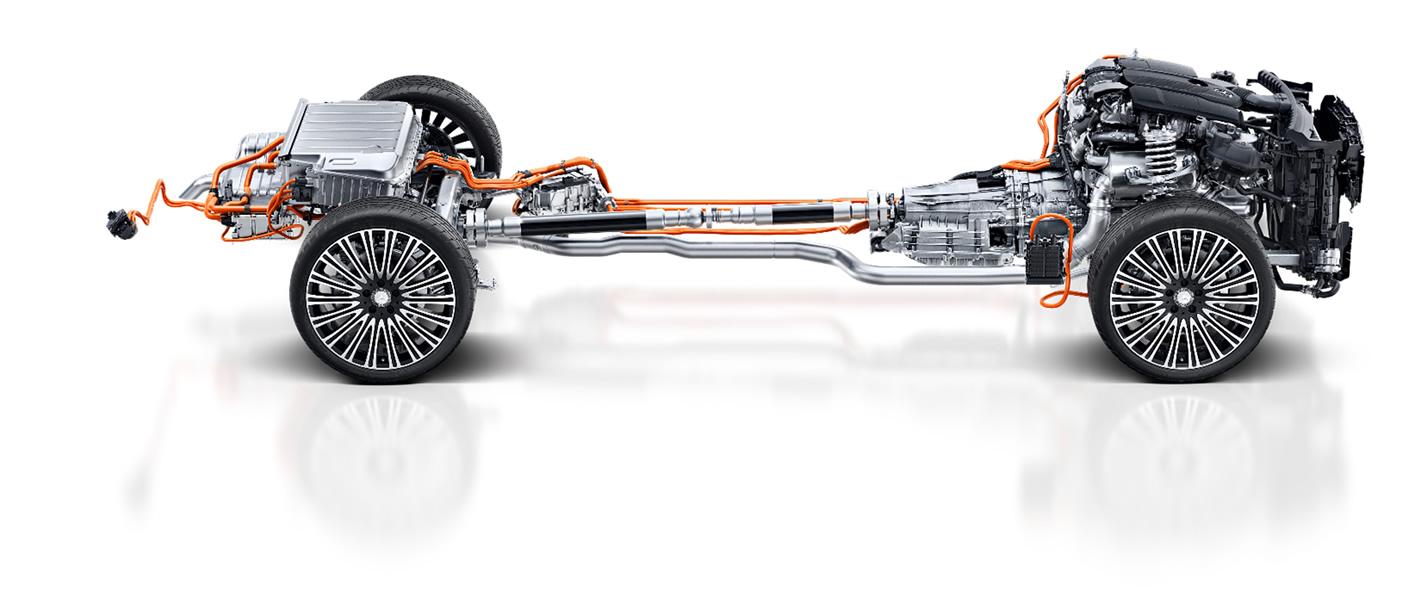 Napęd hybrydowy Mercedesa