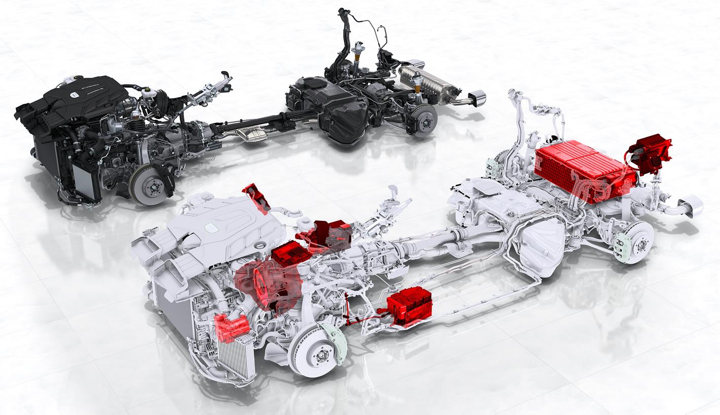 Napęd hybrydowy Porsche Cayenne E-Hybrid