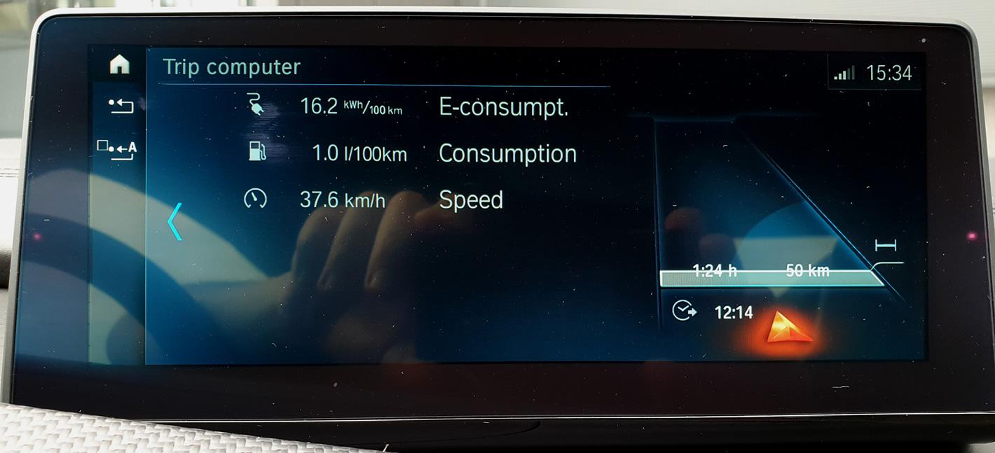 BMW i8 - spalanie