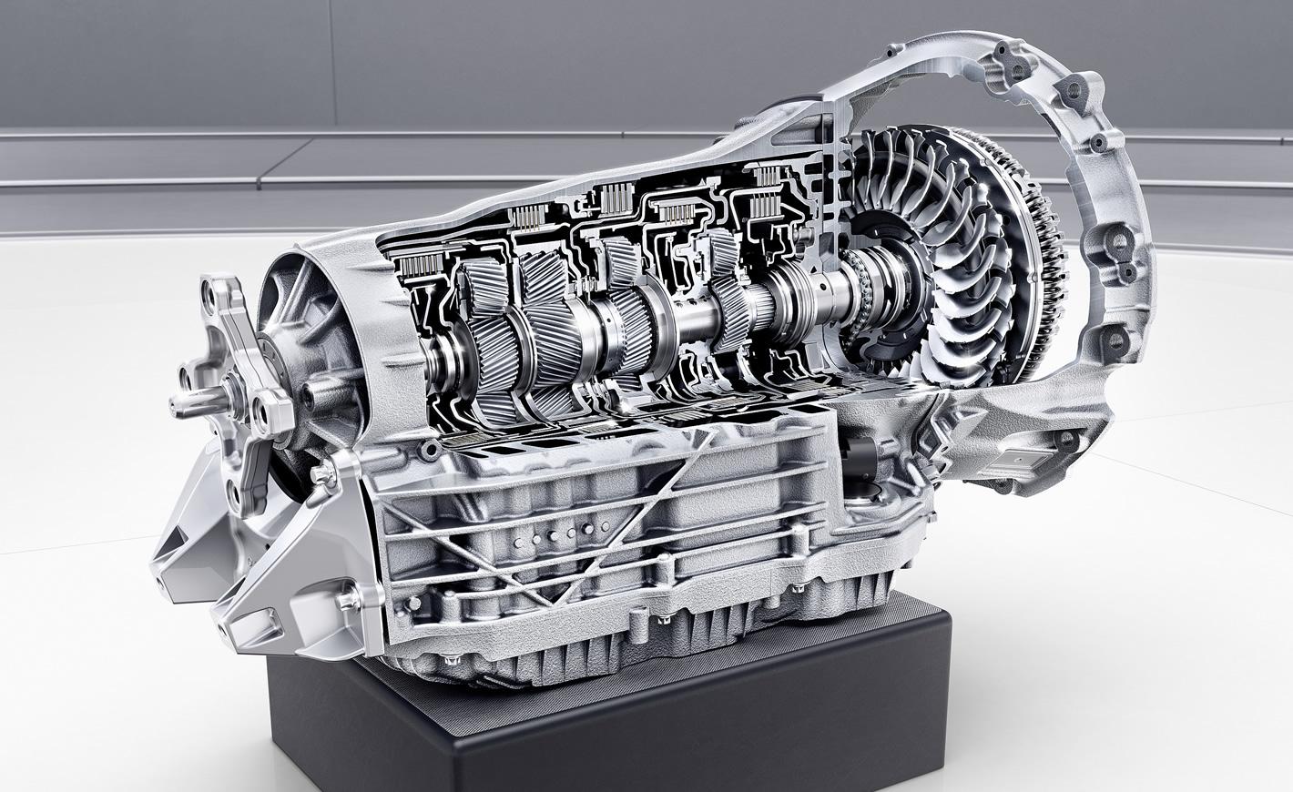 Mercedes-Benz GLE 450 4Matic EQ Boost - skrzynia biegów 9G-Tronic