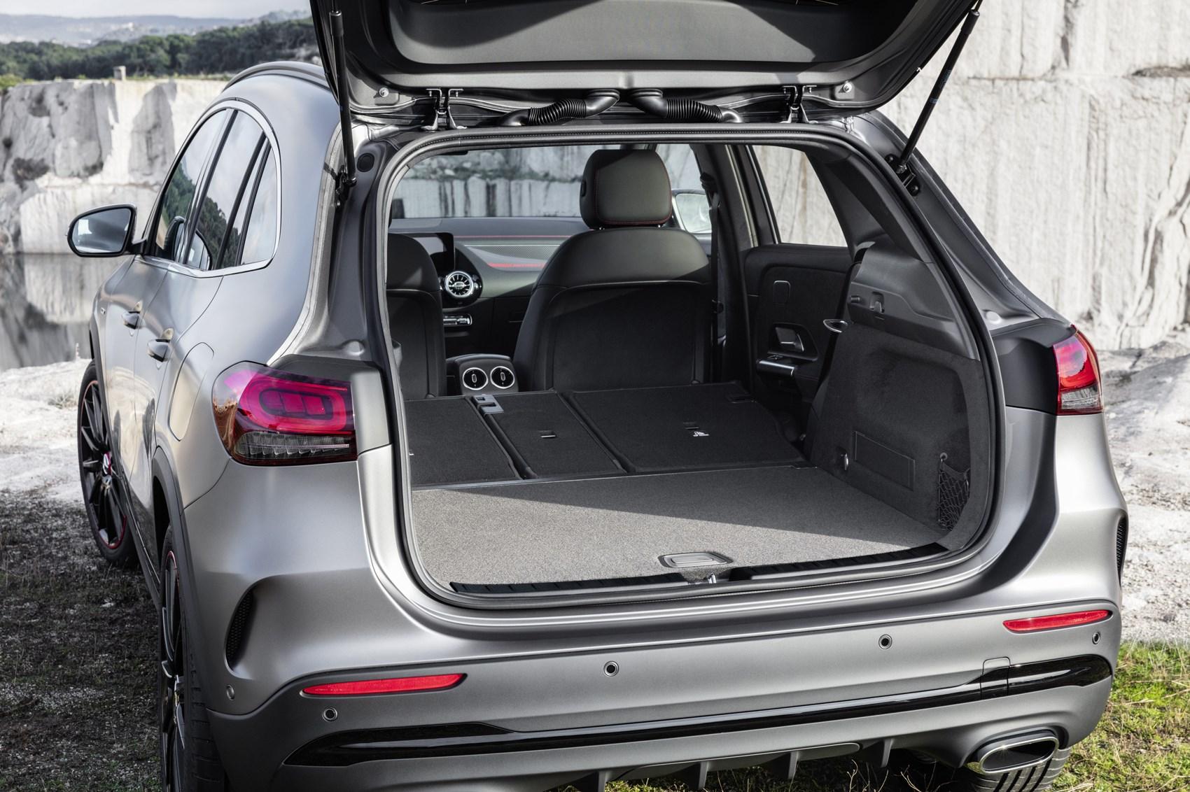 Mercedes GLA 2020 bagażnik