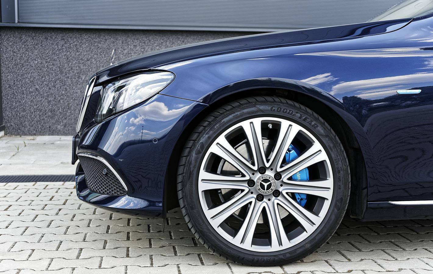 Mercedes-Benz E 350e Hybryda Plug-In - hamulce