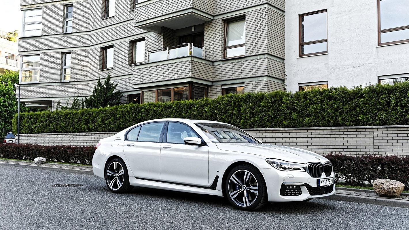 BMW 740e iPerformance Hybryda Plug-In