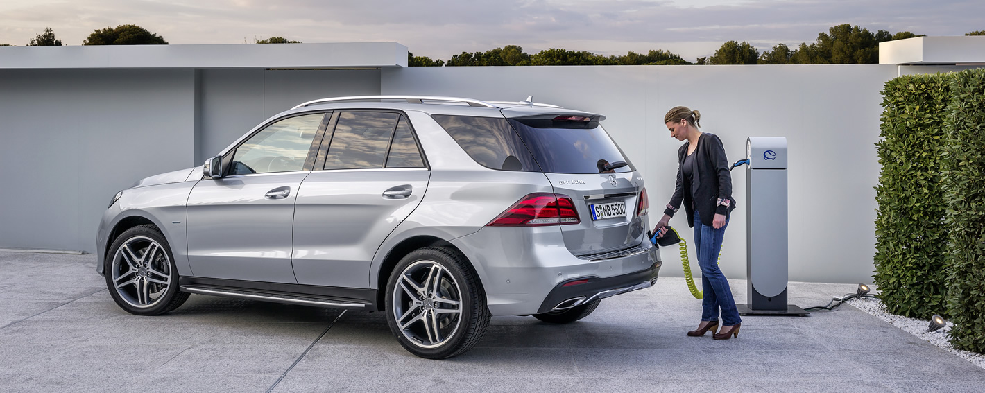 Mercedes-Benz GLE 500e Hybryda Plug-In