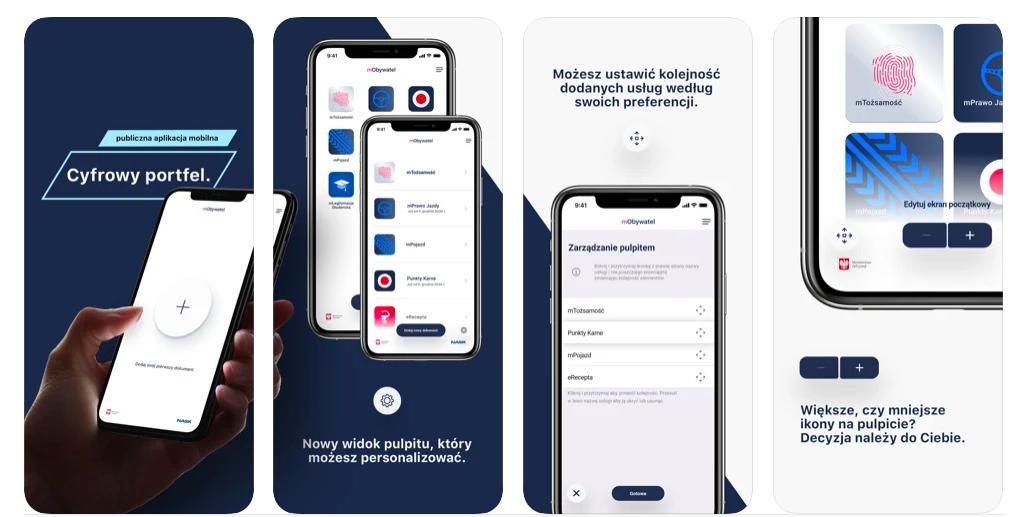 iPhone - mObywatel