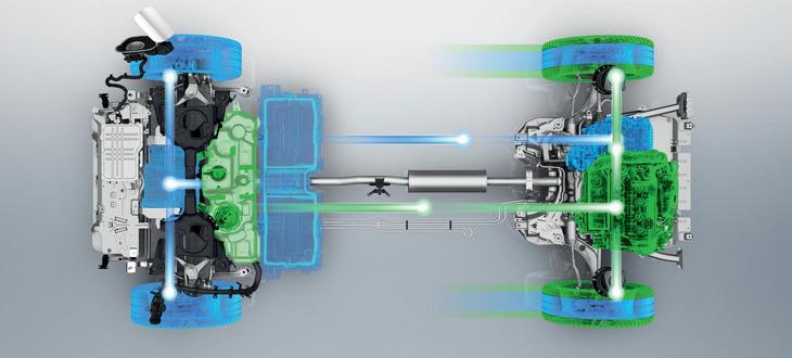 Peugeot 508 Sport Engineered - napęd
