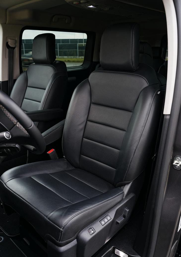 Opel Zafira Life Long - fotel kierowcy