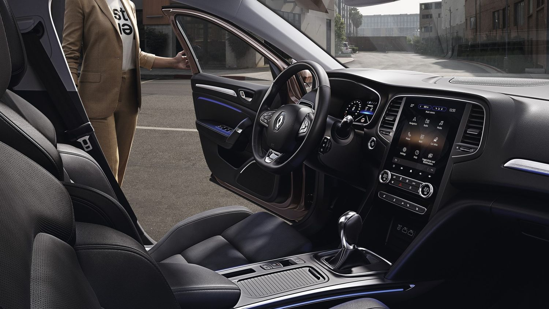 Renault Megane po liftingu - wnętrze