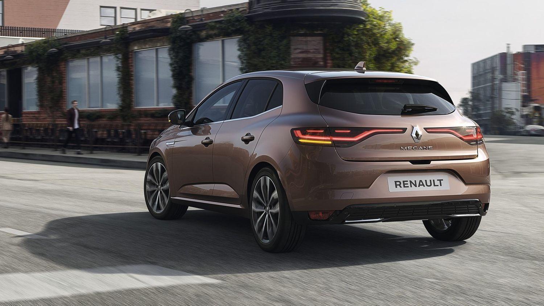Renault Megane tył