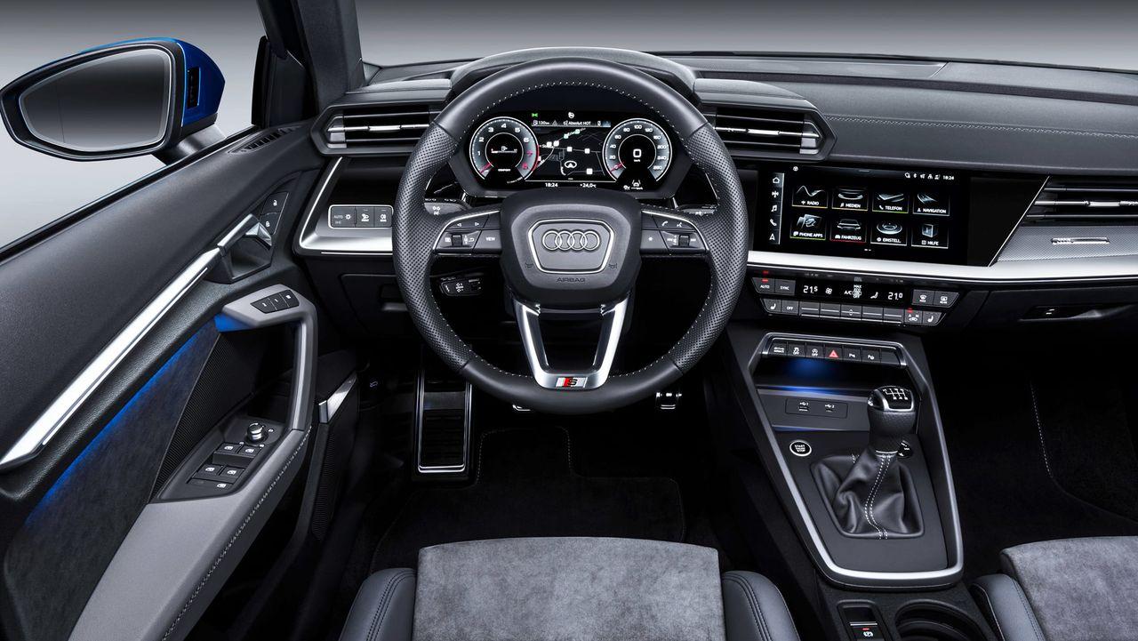 Audi A3 Sportback 2020 wnętrze