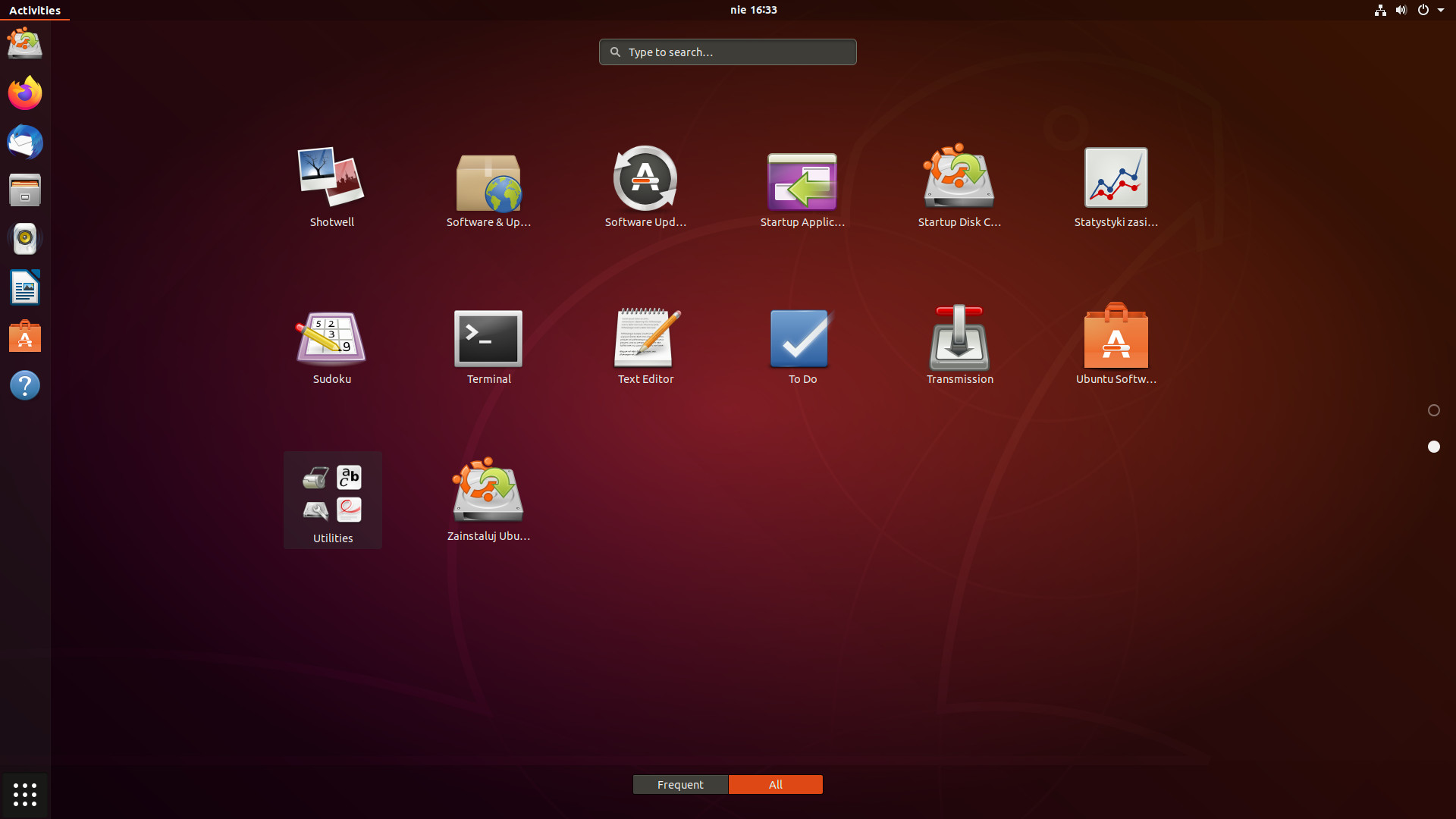 ubuntu programy