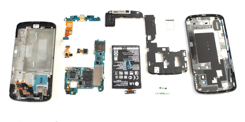 Google Nexus 4 płyta główna pamięć eMMC