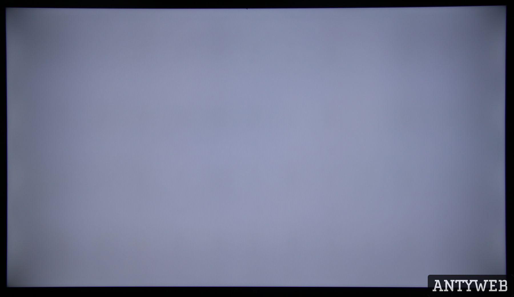 Xiaomi Mi TV 4S 55 jednorodność podświetlenia biały