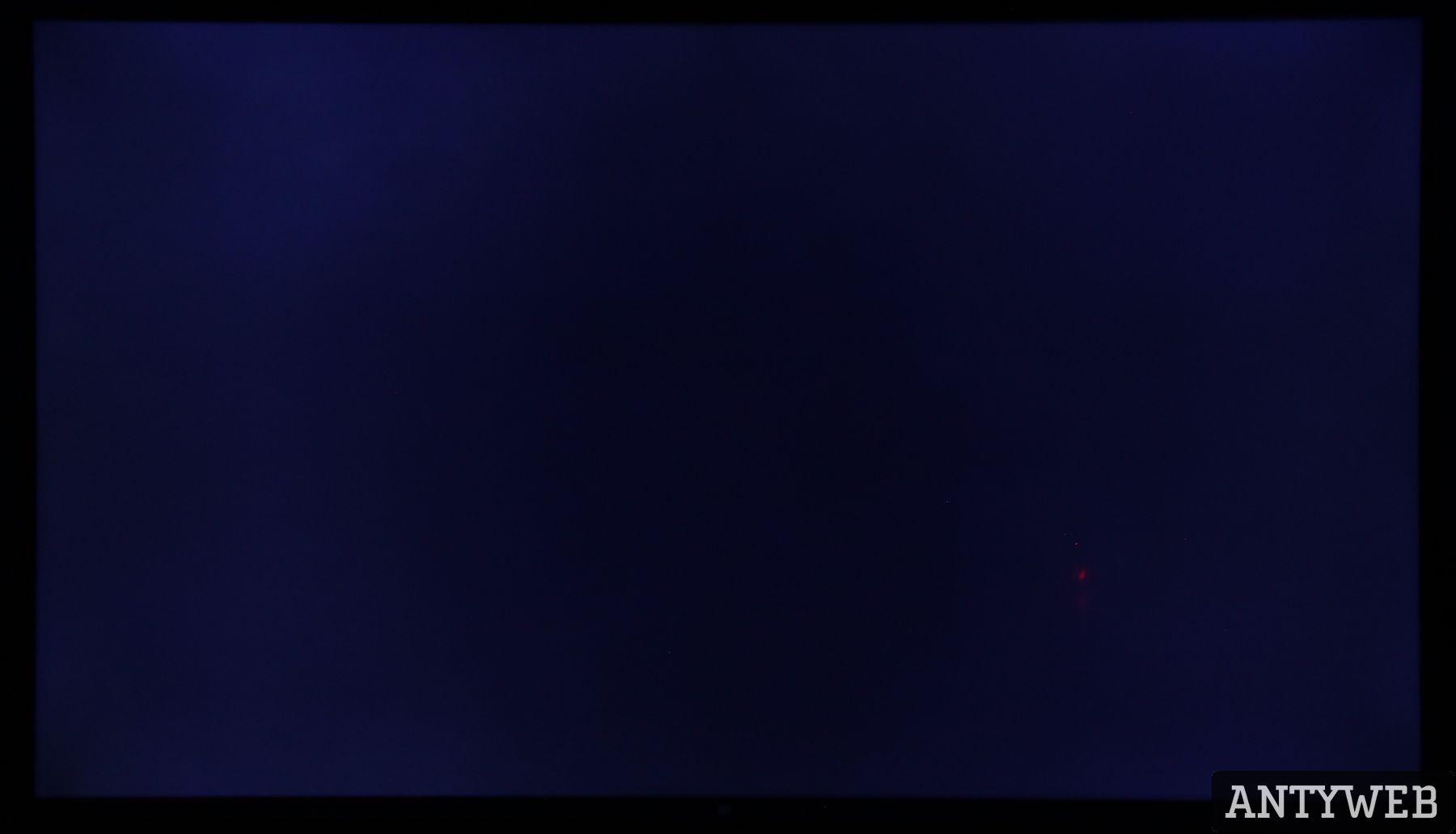 Xiaomi Mi TV 4S 55 jednorodność podświetlenia - czarny