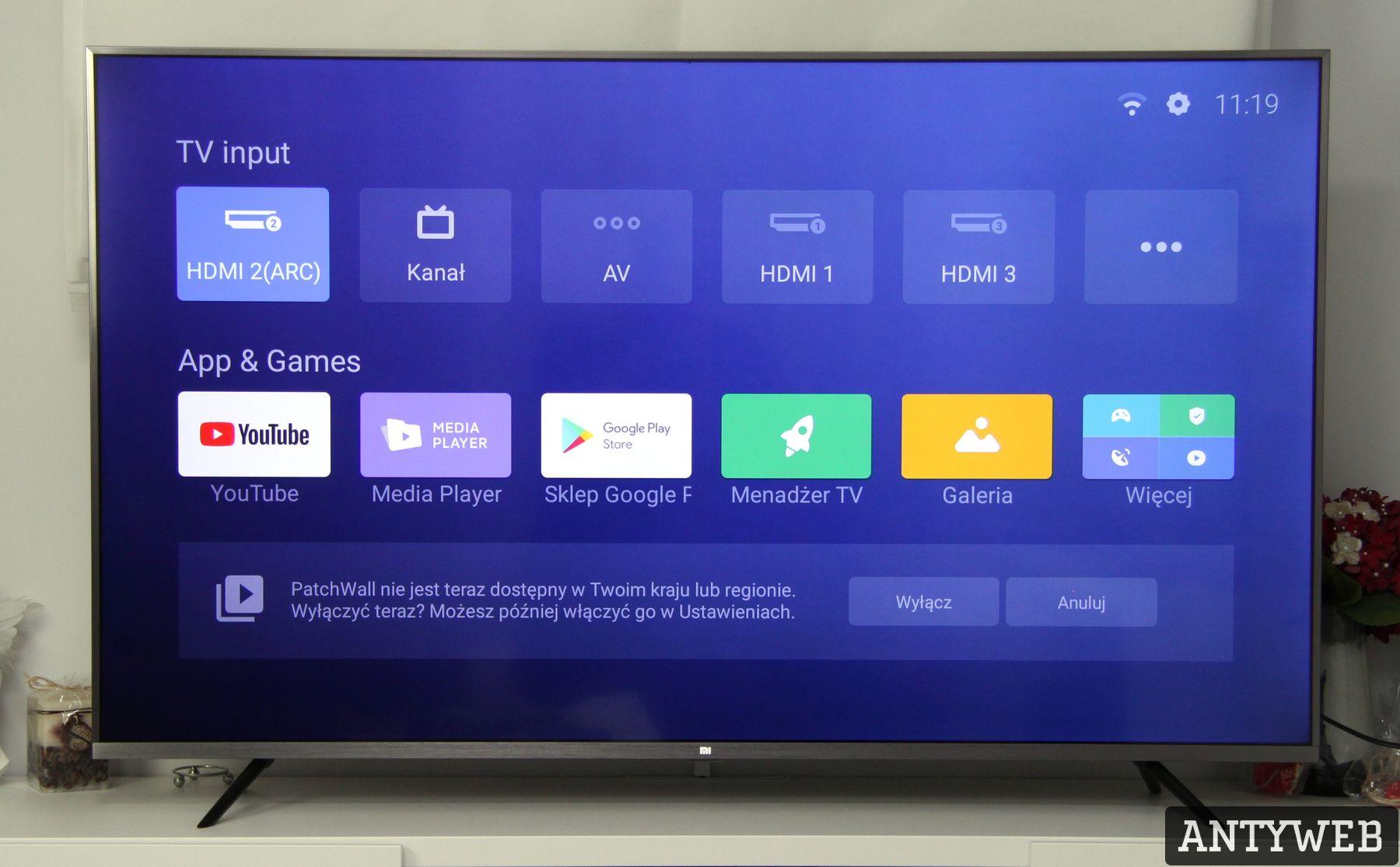 Xiaomi Mi TV 4S 55 Android TV
