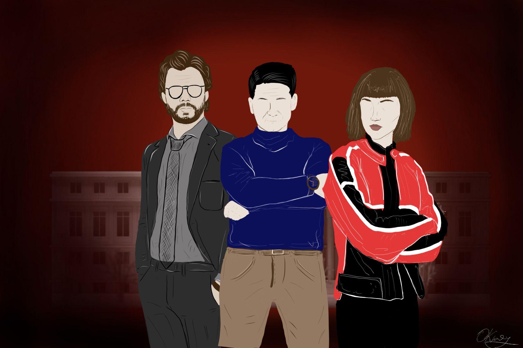 Dom z papieru - 4. sezon. Wywiad Antyweb z Tokio i Profesorem