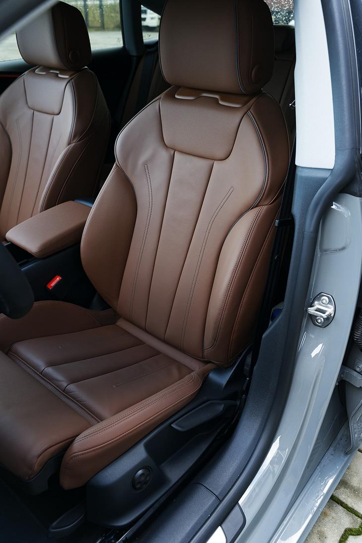 Audi A5 Sportback - fotel kierowcy