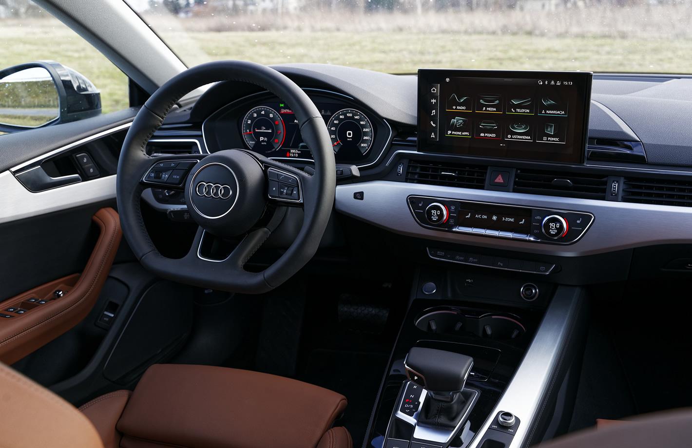 Audi A5 Sportback wnętrze