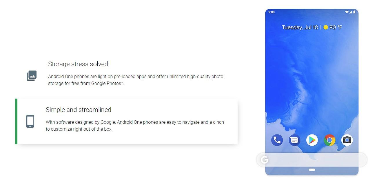Android One prosty i szybki