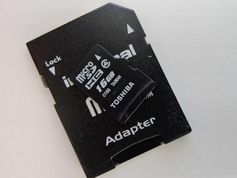 karta microSD class 4