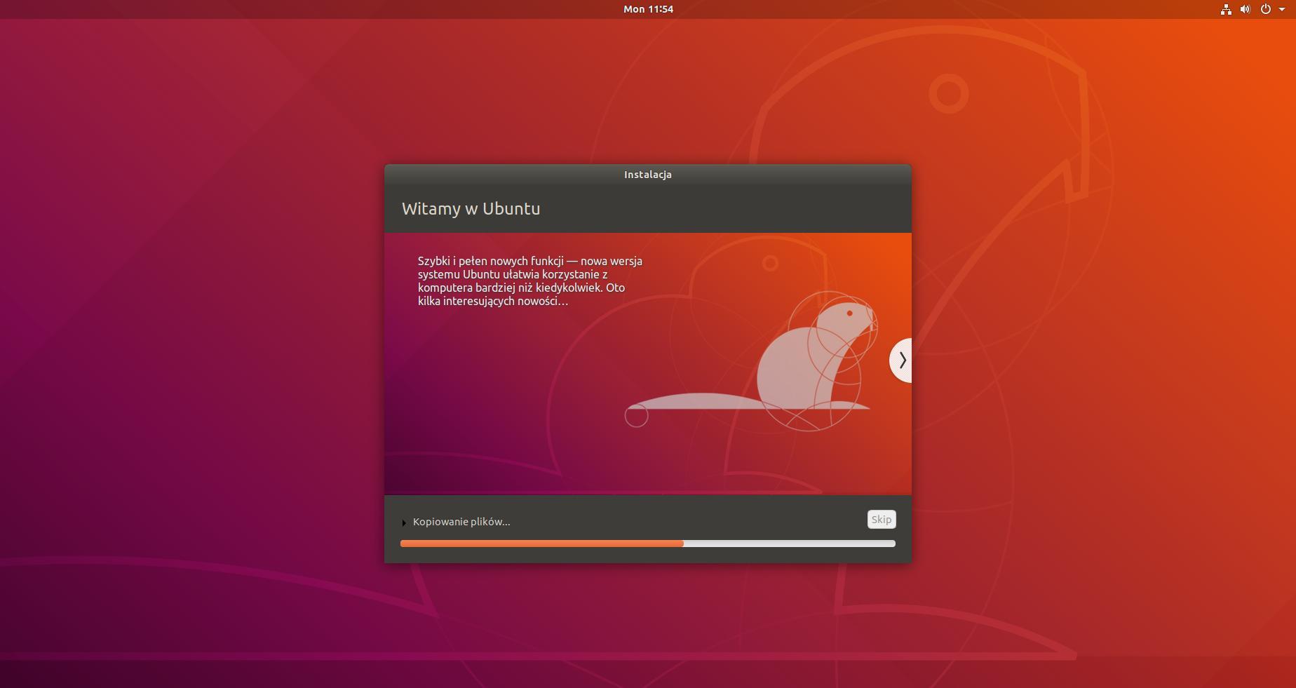 ubuntu instalacja