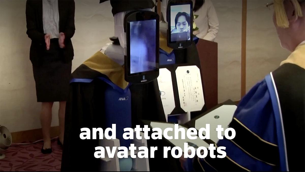 zakończenie szkoły robot japonia