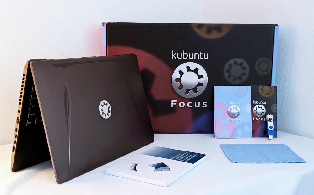 kubuntu focus zestaw