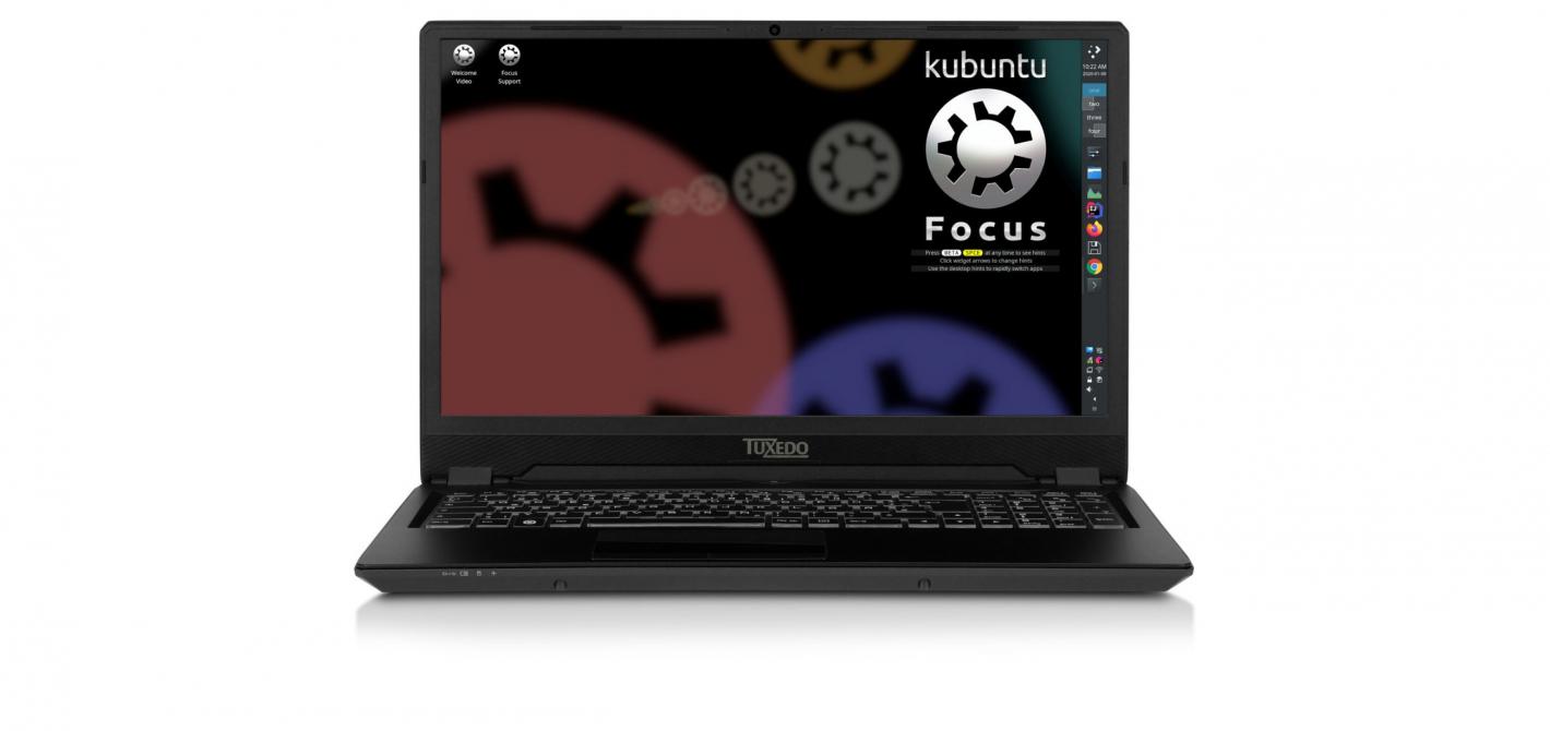 kubuntu focus od przodu