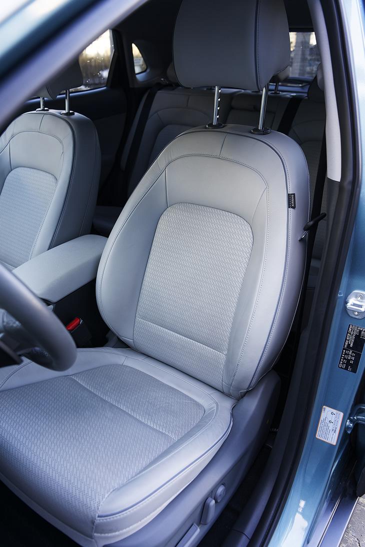 Hyundai Kona Electric - fotel kierowcy