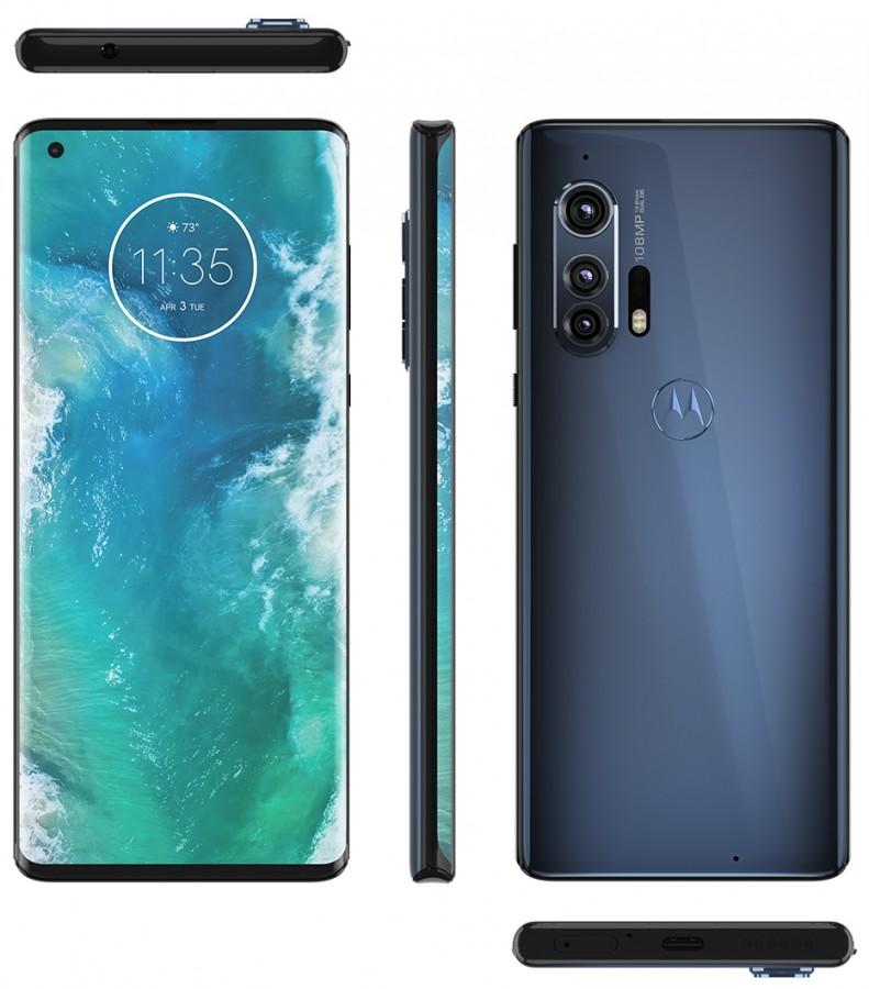 Motorola Edge+ wygląda pięknie