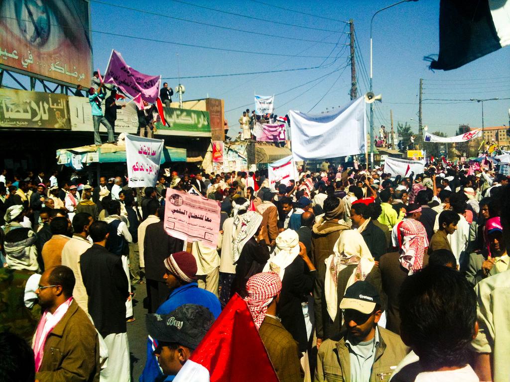 protest w Jemenie