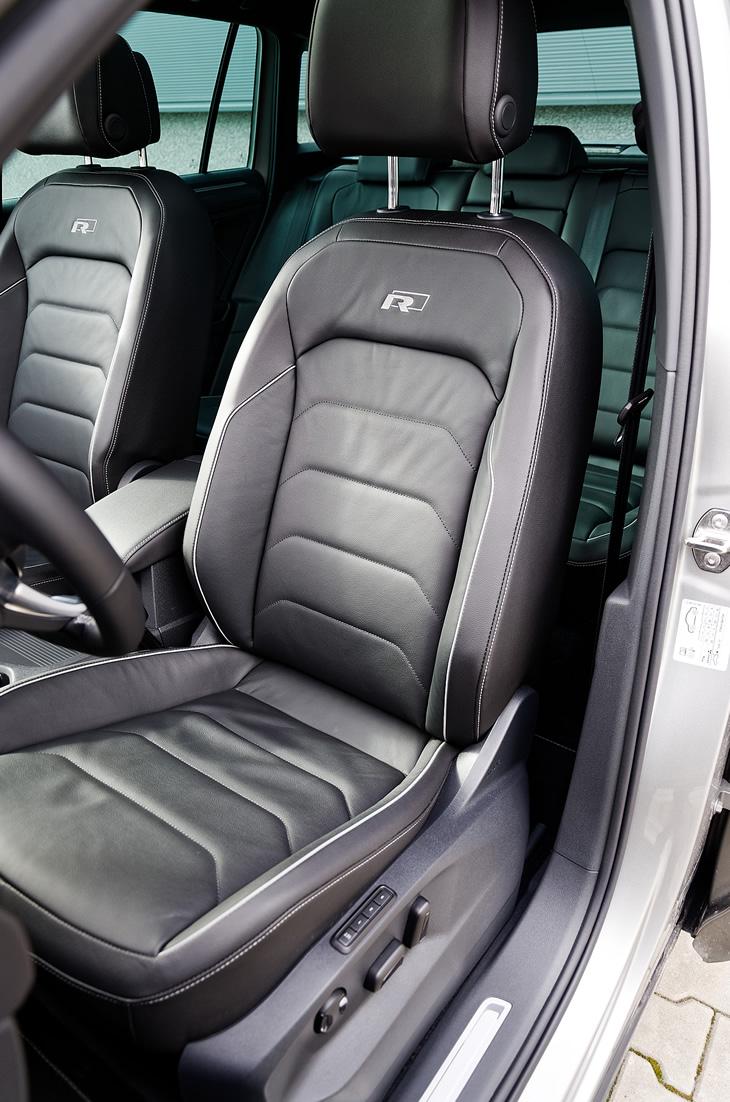 Volkswagen Tiguan 2019 - fotel kierowcy