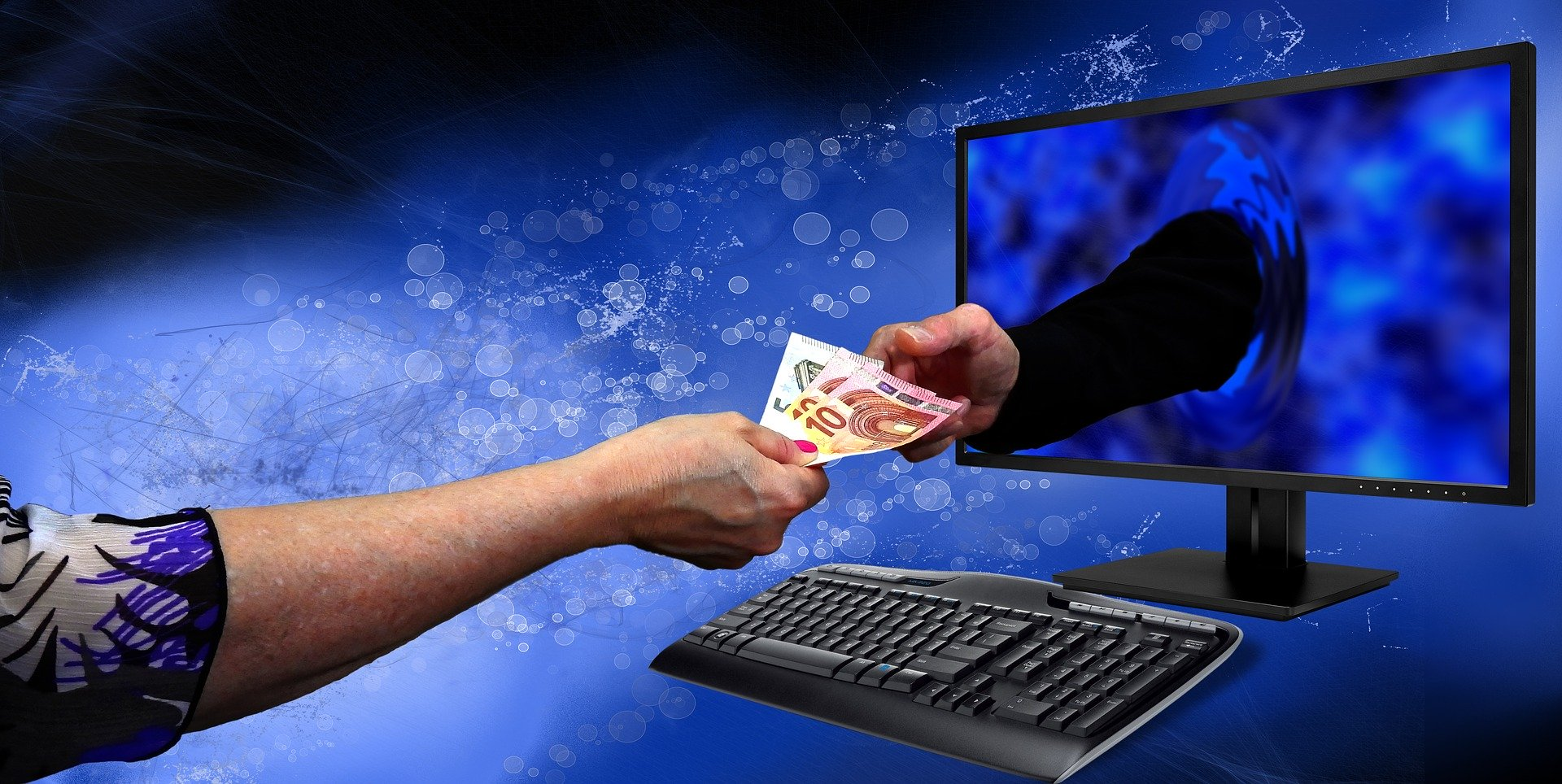 Wyłudzenie pieniędzy w internecie