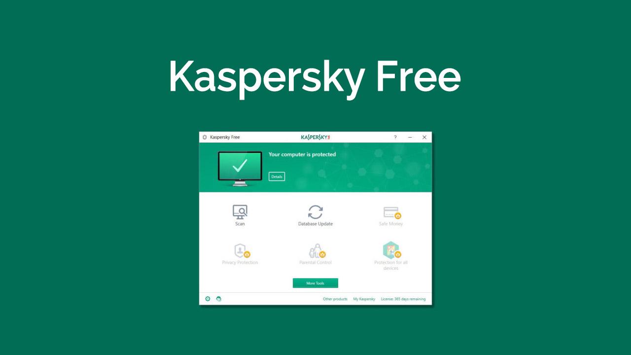 Kaspersky Free program antywirusowy