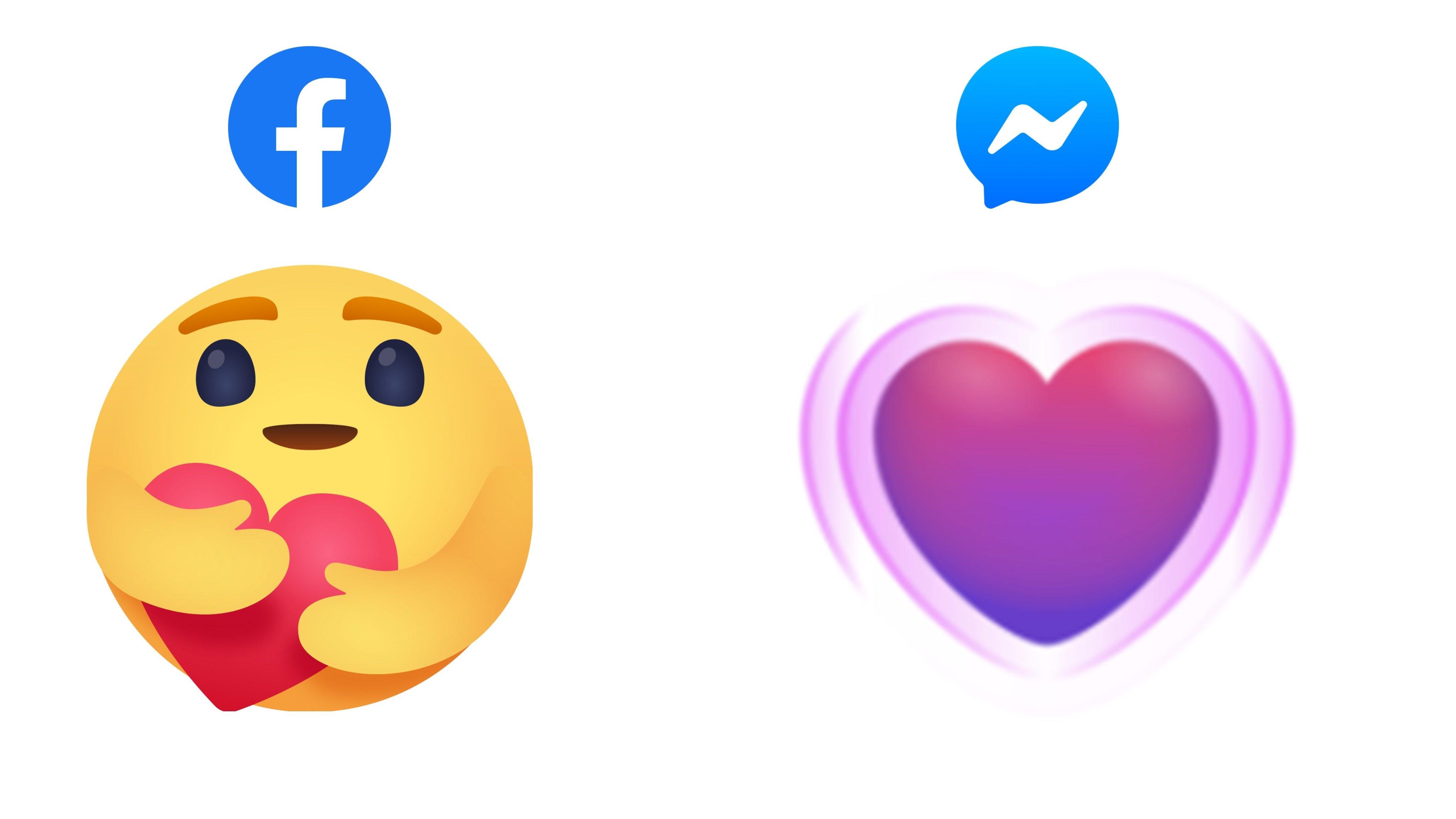 nowe reakcje na facebooku