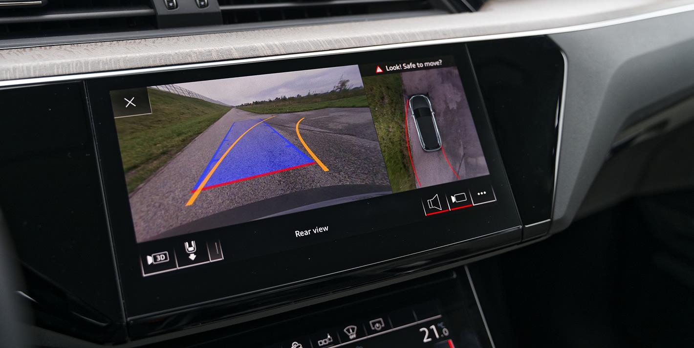 Audi e-tron kamera 360 stopni