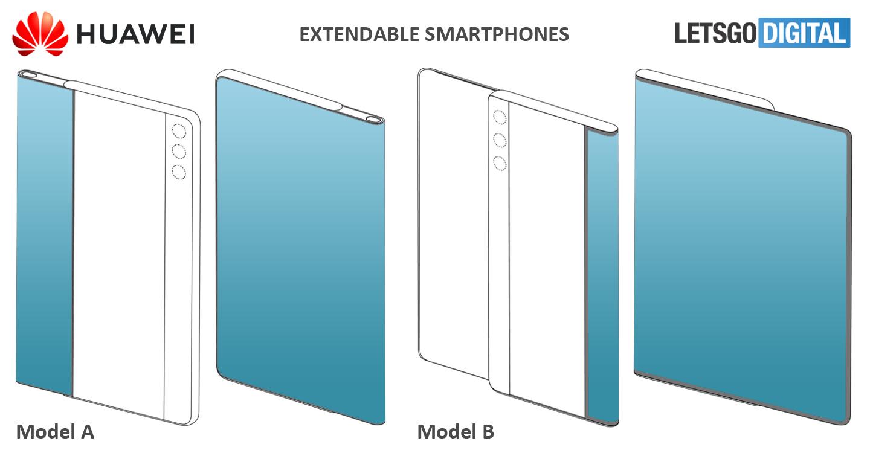 Rozszerzany smartfon od Huawei