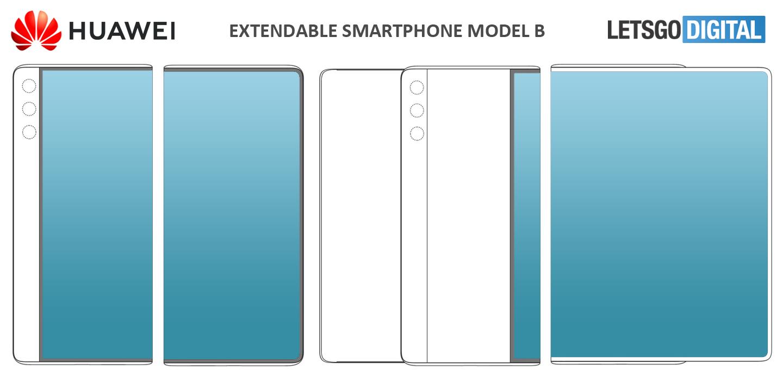 Rozszerzany smartfon Huawei