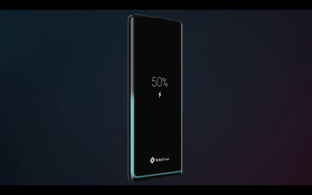 Wskaźnik baterii w Motorola Edge+