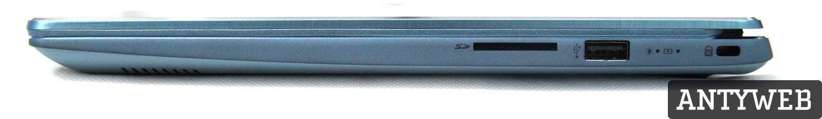 Acer Swift 3 porty prawa strona