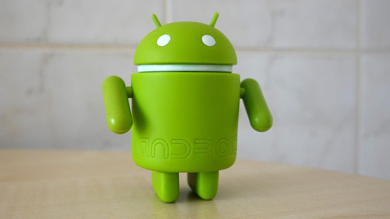 android ludek maskotka