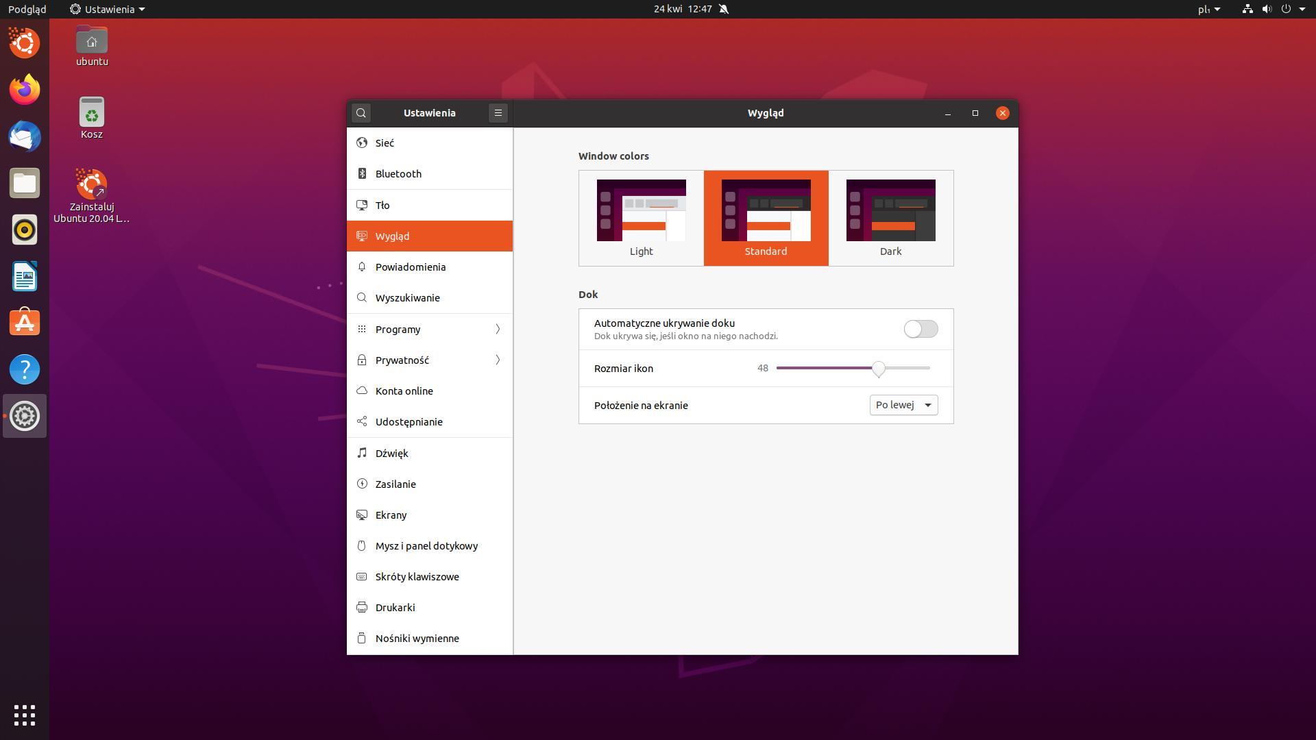 ubuntu style