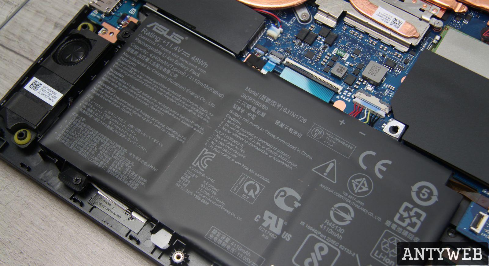 ASUS TUF Gaming A15 bateria